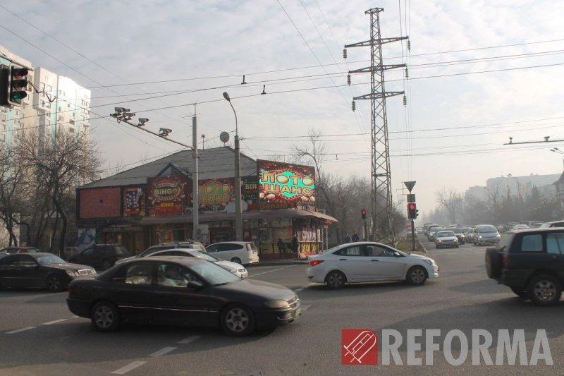 Фото Модульный экран P10 на Сатпаева-Розыбакиева