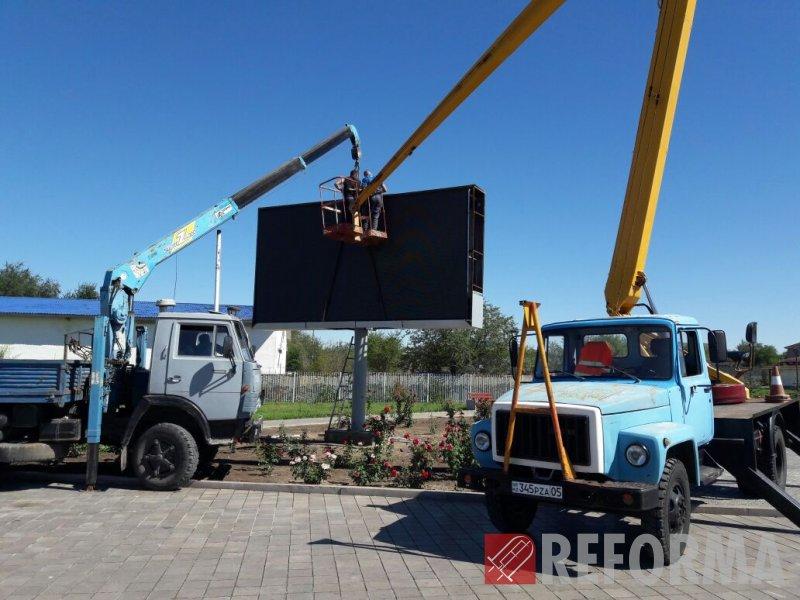 Фото Замена светодиодного экрана в г. Талдыкурган