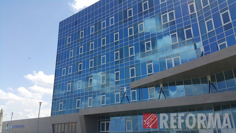Фото Медиафасад КазАэронавигация, г. Астана