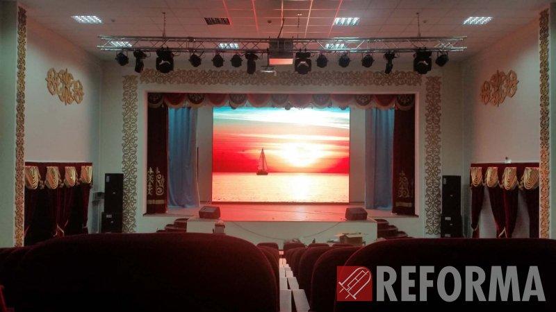 Фото LED-экран для ДК п. Индербор