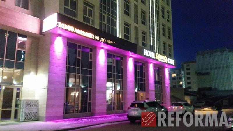 Фото LED-экран и подсветка для гостиницы