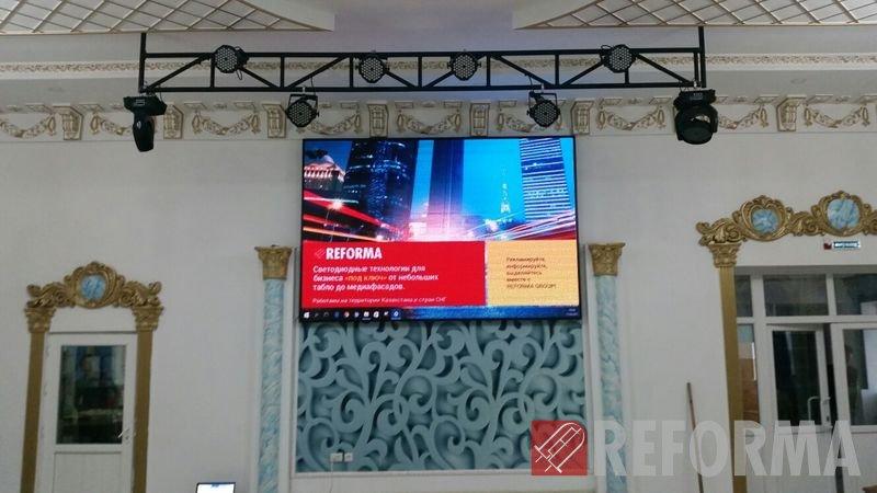 Фото LED-экран для ресторана