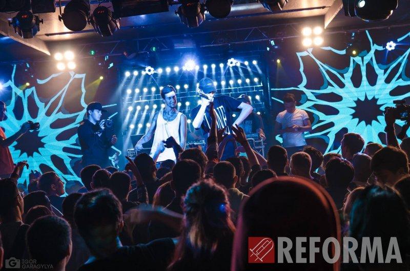 Фото Оформление клуба Ретро Метро, г. Бишкек