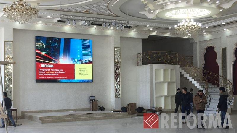 Фото Внутренний LED-экран P5 для зала торжеств