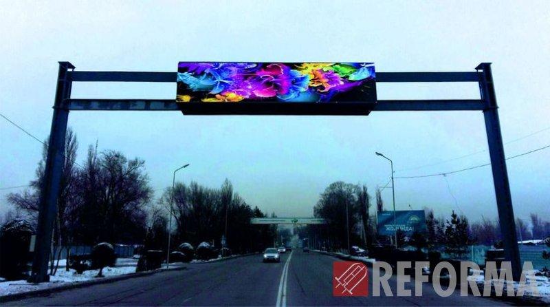Фото LED экраны кабинетного типа