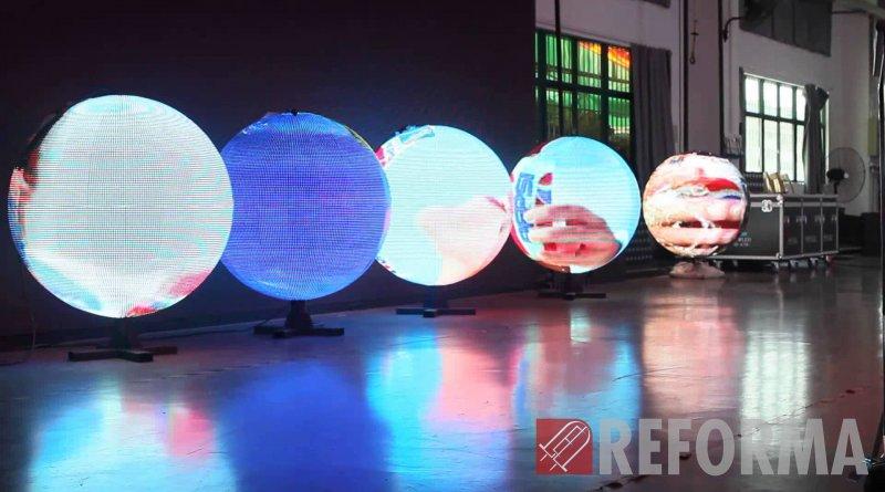 Фото Нестандартные светодиодные экраны