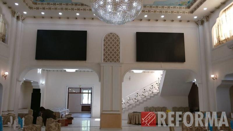Фото Светодиодные экраны P5 для ресторана