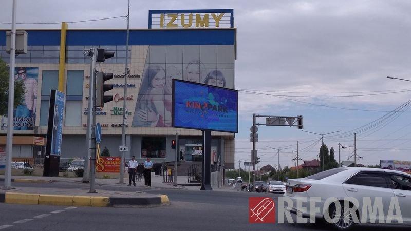 Фото Светодиодный LED-экран Р10 для рекламного агентства