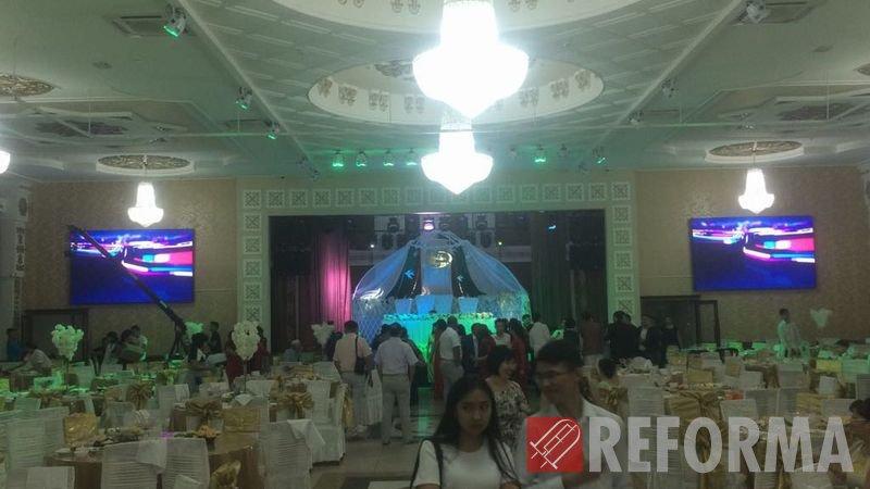 Фото Светодиодные экраны Р5 для ресторана