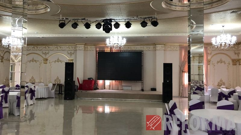 Фото Светодиодный LED-экран Р5 для банкетного зала