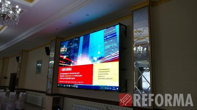 Фото Светодиодный LED-экран внутреннего применения Р4 в г.Балхаш