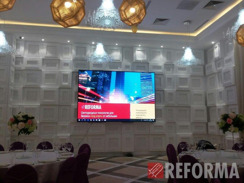 Фото Светодиодные экраны P4 в Grand Hall, г. Астана