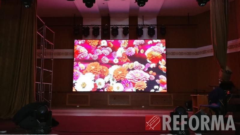 Фото Внутренний LED-экран P5 для банкетного зала