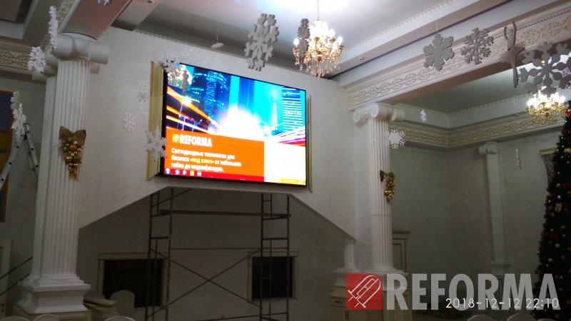 Фото LED-экран P4 в Dala Hall, г. Костанай