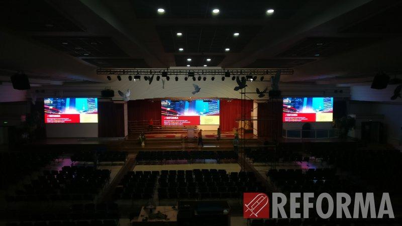 Фото LED экраны для церкви