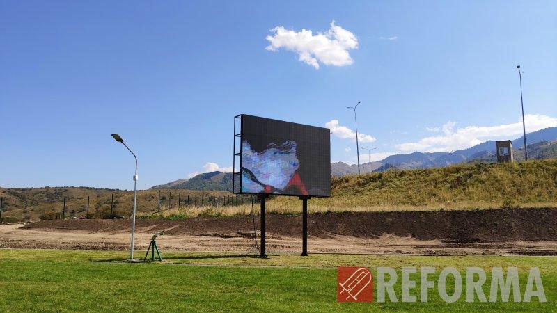 Фото LED экран для стрельбища в Акбулаке