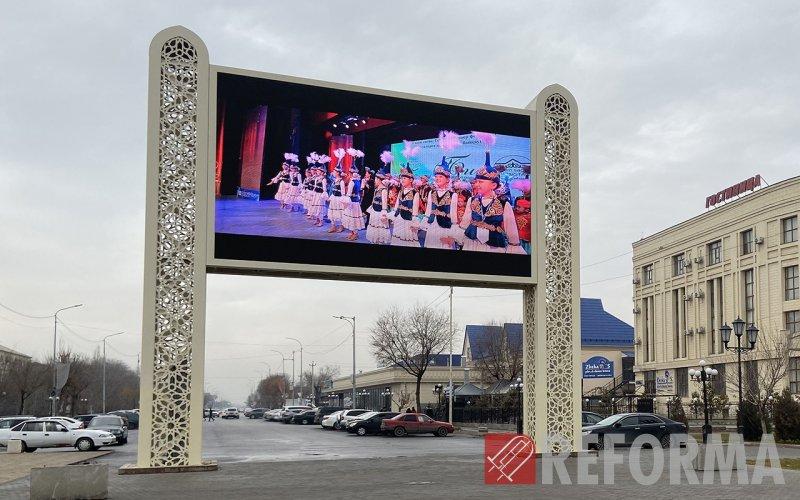 Фото Сеть led экранов в Туркестане